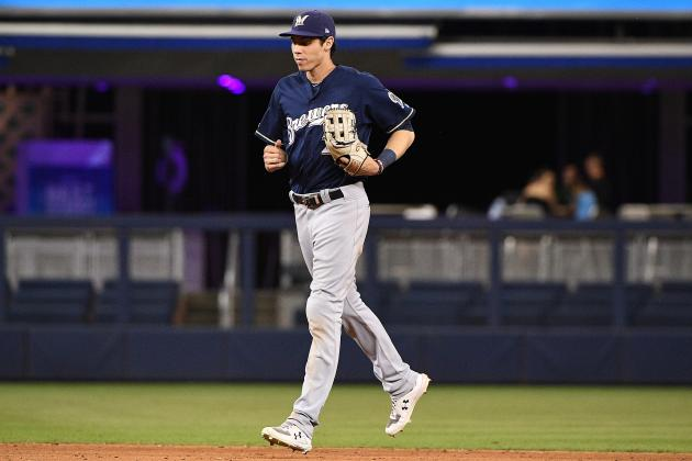 Brewers' Christian Yelich Will Be Ready for Spring Training Despite Knee Injury