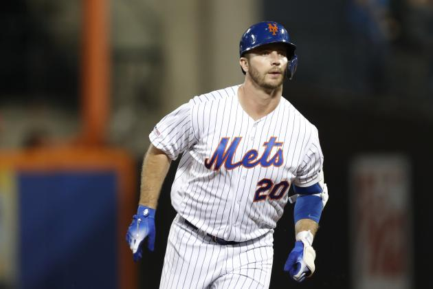 Look: Mets' Pete Alonso Shaves Mustache Mid-Game After Slow Start vs. D-Backs