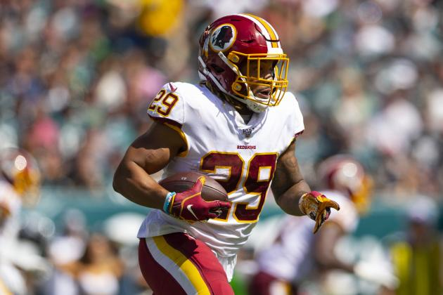 Report: Redskins' Derrius Guice Placed on IR After Surgery for Knee Injury