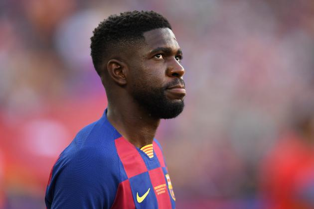 Barcelona Rule Samuel Umtiti out for '5-6 Weeks' with Foot Injury