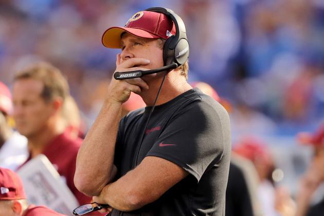 Redskins Fire Jay Gruden After 0-5 Start, Bill Callahan to Be Interim HC