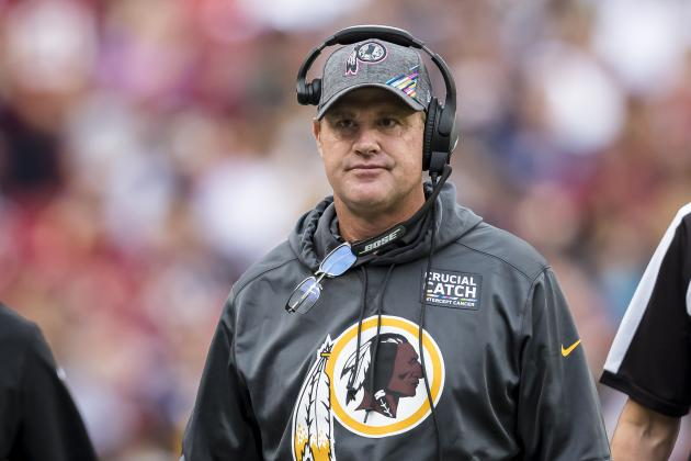 Jay Gruden on Future with Redskins: 'If the Key Works Monday I'll Keep Working'