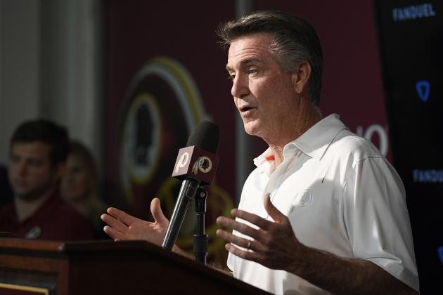 Redskins President Bruce Allen Says Team Culture 'Is Actually Damn Good'
