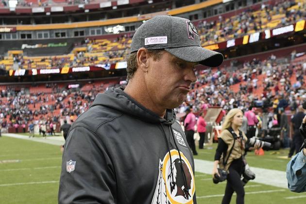 Jay Gruden 'Not Bitter' After Redskins Firing, Responds to Bruce Allen Comments