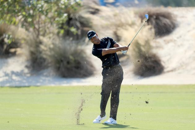 Tiger Woods Falters Late, Shoots Even in 1st Round of 2019 Hero World Challenge