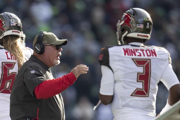 Buccaneers' Bruce Arians Declines to Commit to Jameis Winston Beyond 2019