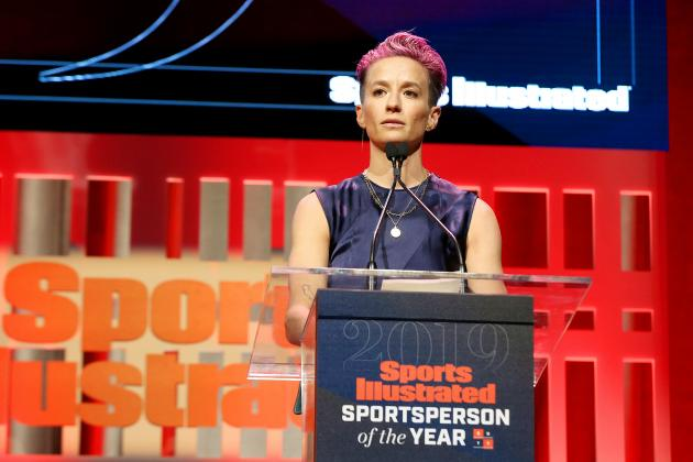 Megan Rapinoe on IOC Banning Olympic Protests: 'We Will Not Be Silenced'