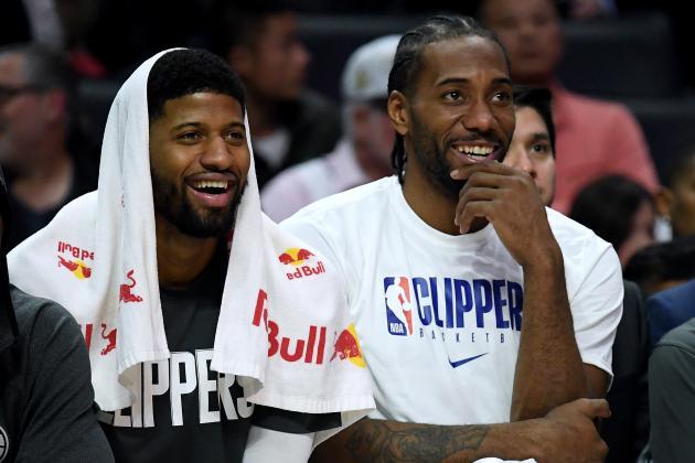 Report: Kawhi Leonard, Paul George Met at Drake's House Before Clippers Deals