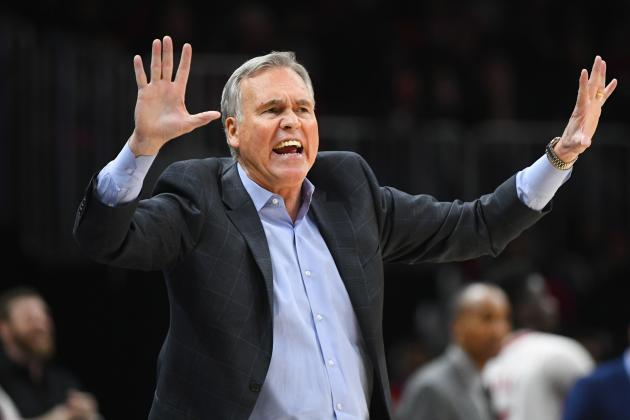 Mike D'Antoni: Rockets' Ship 'Getting Rocked Right Now' After Loss to Blazers