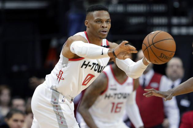 Russell Westbrook, Rockets Had Team Meeting After Loss to Trail Blazers