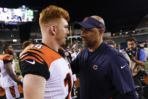 Andy Dalton Trade Rumors: Bears 'Have Been in Touch' with Bengals About QB