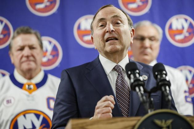 Report: NHL, NHLPA 'Making Progress' on 24-Team Stanley Cup Playoffs for Return