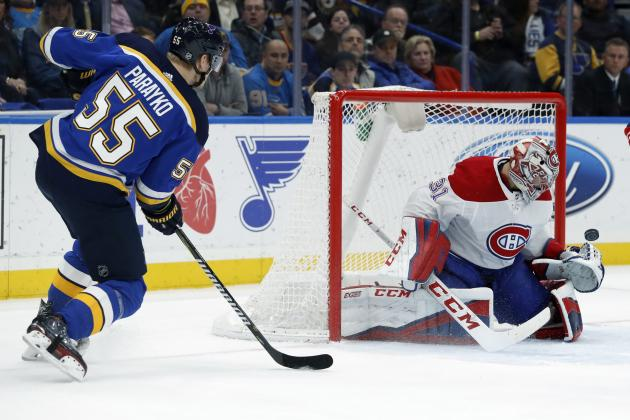 Robert Thomas, Colton Parayko Lead Blues Past Canadiens in NHL 20 Challenge