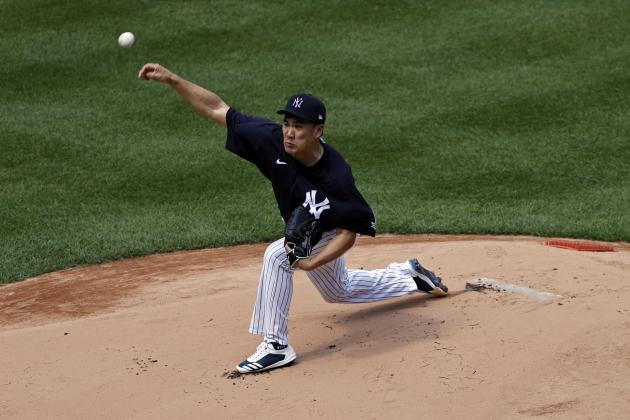 Yankees' Masahiro Tanaka Will Wear Protective Hat After Being Hit by Line Drive