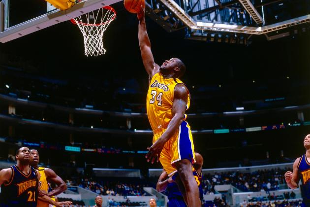 All-Time NBA Starting Five: Shaquille O'Neal Starts at Center