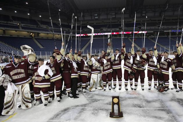 Boston College Hockey: 10 Reasons No. 1 Eagles Can Stay on Top in 2011-12