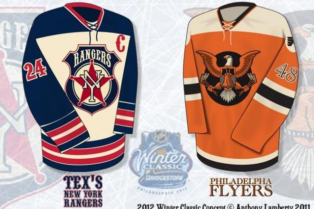 NHL Concept Jerseys: Best NHL Concept Art from Around the Web