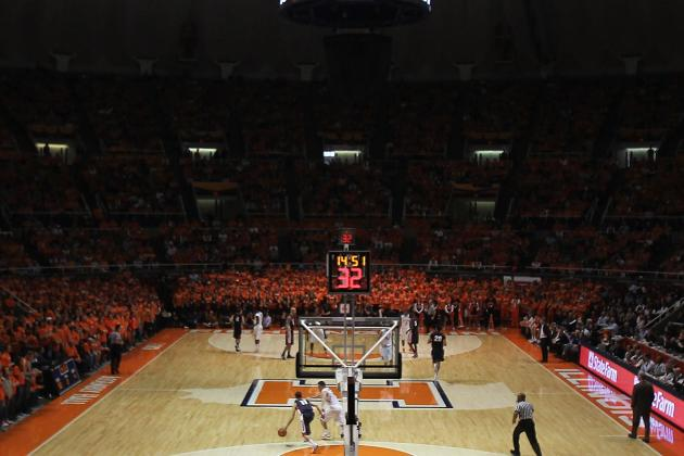 Illinois Fighting Illini Basketball: 2012 Midseason Report Card