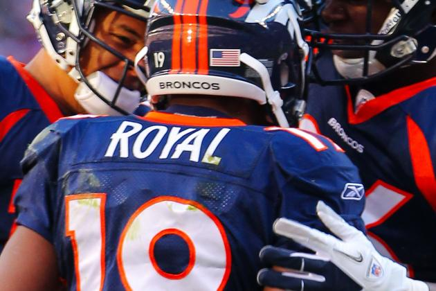 5 Reasons Why the Broncos Need to Re-Sign WR Eddie Royal