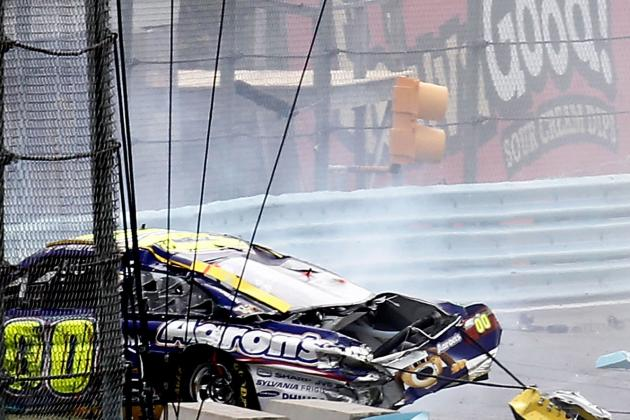 The Most Wreck-Prone Drivers in NASCAR