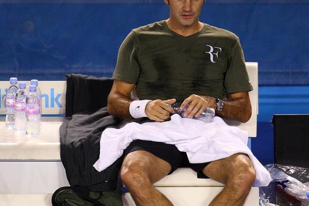 Australian Open 2012: Roger Federer and 5 Players Guaranteed to Fail
