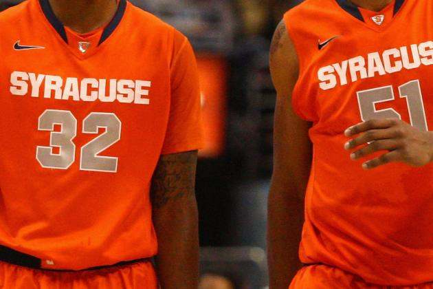 College Basketball Bracketology: Cuse, Baylor Favorites for Overall No. 1 Seed