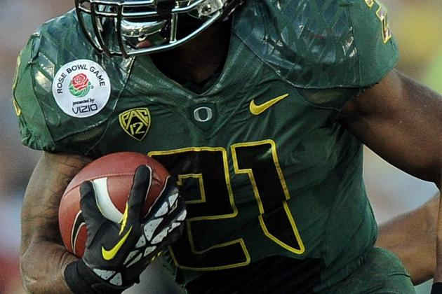 2012 NFL Draft Order: Predicting Destinations for LaMichael James & Top RBs