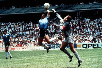 World Football's 10 Most Infamous Handballs in History