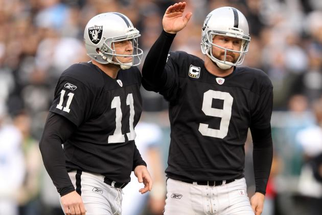 Oakland Raiders 2011 Season in Review: Special Teams Report Card