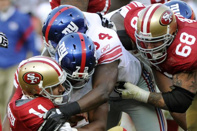 Giants vs. 49ers: 4 New York Players Who Need to Step Up Big in San Francisco