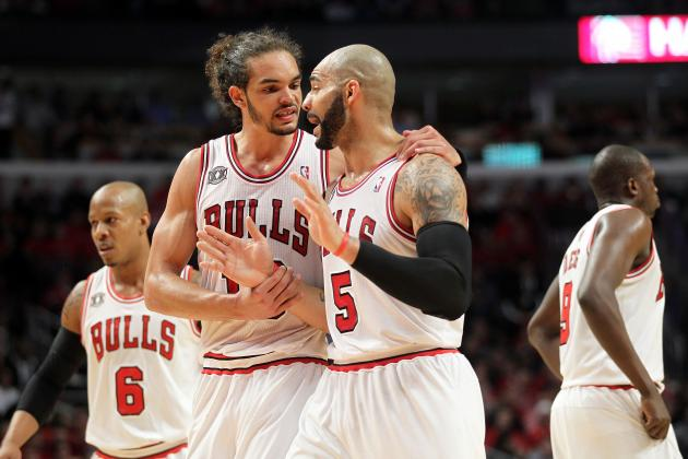 Chicago Bulls: How to Fix the Carlos Boozer and Joakim Noah Situation