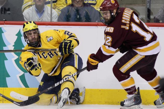 College Hockey: WCHA's Midseason Hobey Hat Trick
