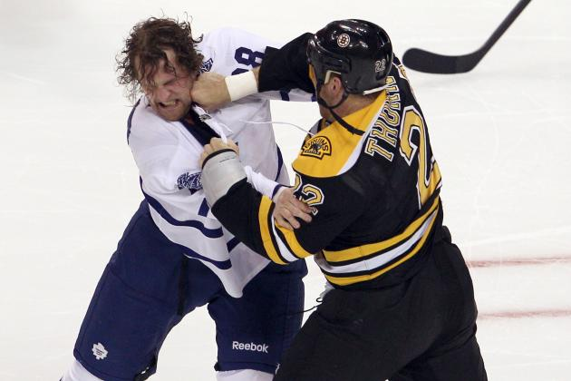 5 NHL Goons Who Should Be in the Unemployment Line