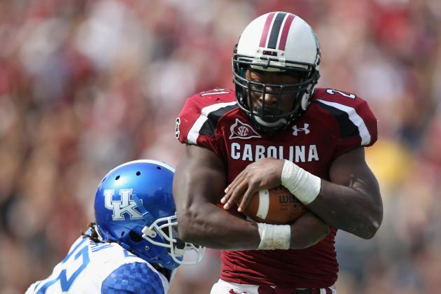 South Carolina Football: Too Much Offensive Weaponry in 2012?