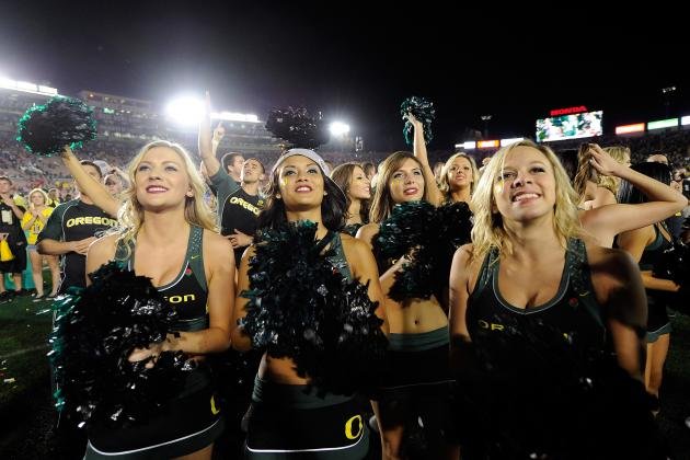 College Football Recruiting: Cheerleaders from Top 50 Schools