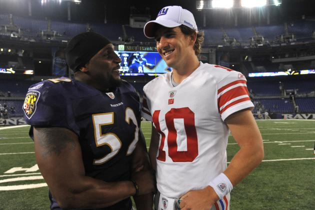 Super Bowl 2012: Giants vs. Ravens Rematch Most Exciting Matchup