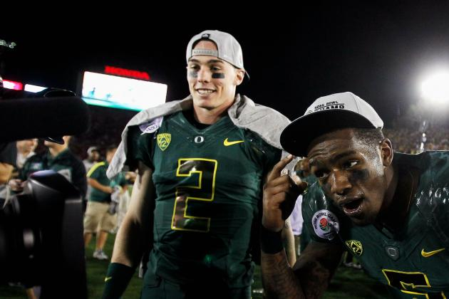 Oregon Football: Brief Look at the Quarterback Battle