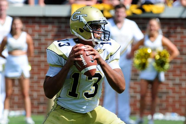 Georgia Tech Football: Quarterback Depth for 2012