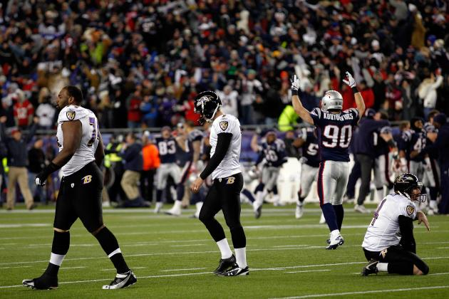 Ravens vs. Patriots: 5 Things We Learned from Baltimore's 23-20 Loss