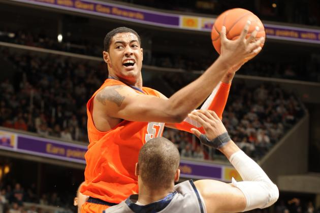 Syracuse Orange Need Fab Melo and 10 Things We Learned This Weekend