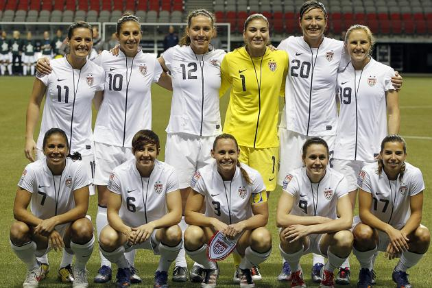 U.S. Women's National Team Heading for Soccer Gold