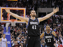 Skinny Kevin Love and Other NBA Sights I Am Not Used to