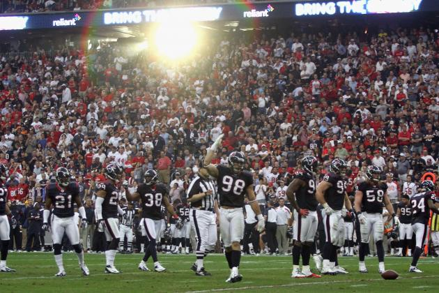 Houston Texans: 10 Areas Most Improved in 2011-12