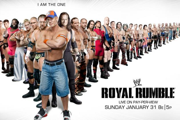 WWE Royal Rumble 2012: Breaking Down the Rumble Match
