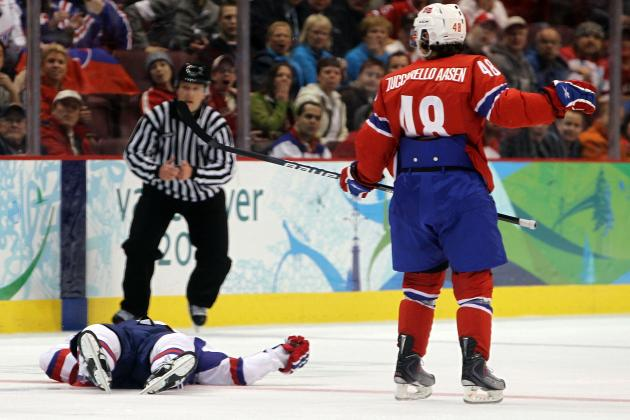 Hockey's Funniest Dives and Fake Injuries