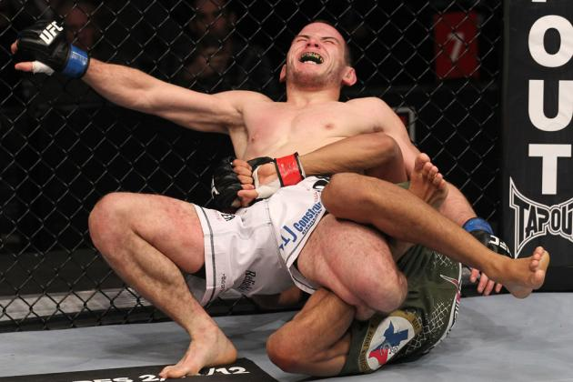 UFC on FOX 2 Results: The Calf Slicer and 5 Insane Submission Moves