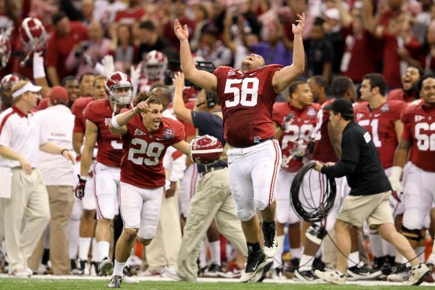 Alabama Football: Watch the Tide's Five Greatest Plays of 2011