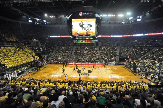 The 20 Ugliest Court Designs in College Basketball