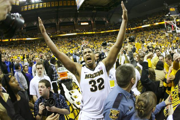 Bracketology: Missouri Snags Last No. 1 Seed with Weekend Win over Kansas