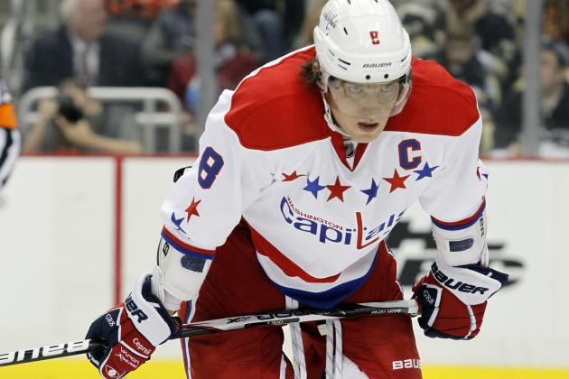 Alexander Ovechkin and the NHL Season's 25 Most Disappointing Stars